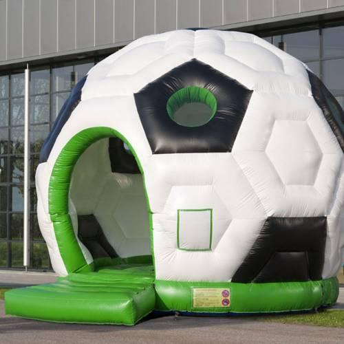 Hüpfburg Fußball Ø ca. 5m, inkl Gebläse